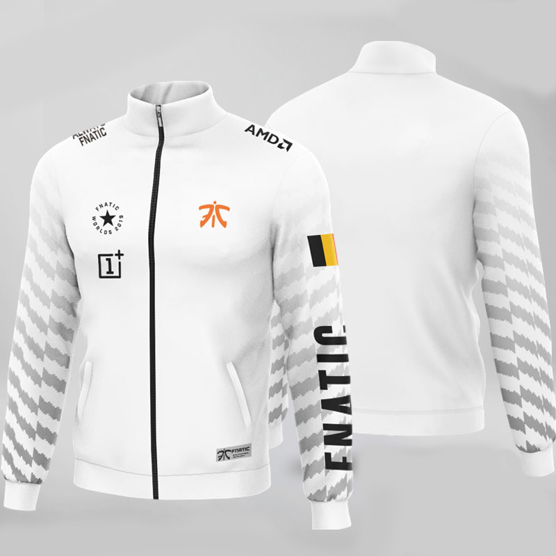 Top Quality Fnatic Jerseys Customized Name Flag Hoodies Men Long Sleeve Streetwear Casual Sweat Homme Mens Hoodie Sweatshirt