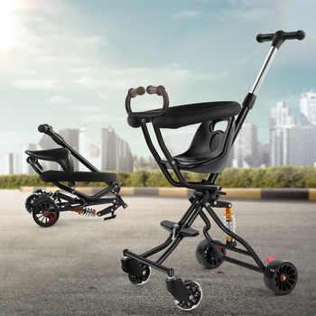 2019 neue einfache komfortable stabile baby kinderwagen faltbare multifunktionale baby kinderwagen