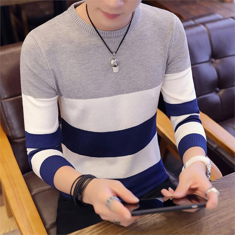 Novelty Patchwork Sweater For Men Pullover Hot Sale Clothing Fitness Novelty 2019 Harajuku Mens Sweaters Hip Hop Pullovers