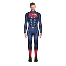 Новое поступление костюм Человека-паука для взрослых с принтом Disfraz Хэллоуин косплей комбинезон Супермена ролевые игры