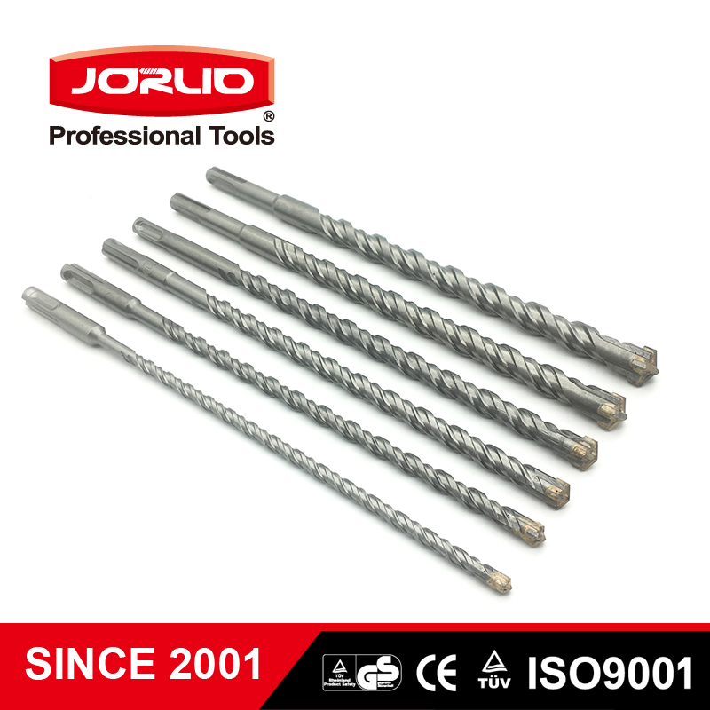 Electric Hammer Drill Bits 260mm 6/8/10/12/14/16/18mm Crosshead Twin Spiral SDS Plus For Masonry Concrete Rock Stone