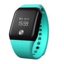 Wristbands OLED Touch Sensor Sports Health Fitness Activity Tracker Smart Watch WristBand Bracelet Pedometer Green(China)