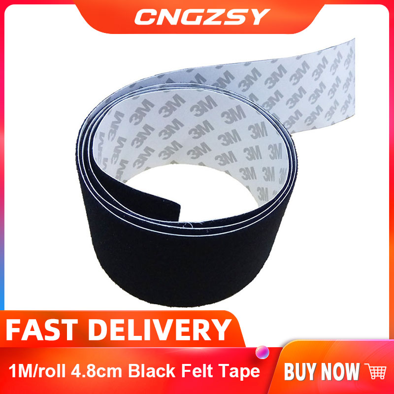1M/Roll 4.8cm Felt Automotive Wiring Harness Tape For Squeegee Glue Replacement Fabric Car Maintenance Wrap Tools A08-1M