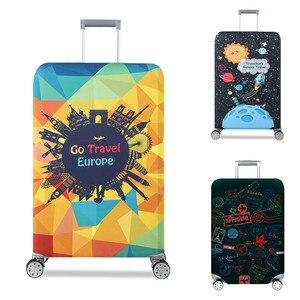 Image 2 - VOGVIGO, Maleta de viaje más gruesa, Fundas protectoras para la caja del maletero, se aplica a 18  32, cubierta de la maleta, elástico perfectamente, nuevo