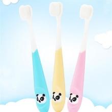 Toothbrush Dental-Care Teeth Soft-Bristled Baby Children Cartoon for Panda Cute