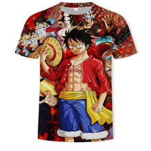 2021 hot sale new Japanese anime 3DT shirt men and women summer fashion trend street hip-hop clothing breathable and sweat-absor