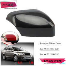 ZUK For Volvo XC90 2007 2014 For XC70 2008 2012 Outer Rearview Mirror Cover Side Mirror Housing None Painted