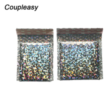 5Pcs/lot Small Size Bubble Bag Laser Bubble Mailer Padded Sh