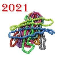 Anel de pigeão multicolorido, anel de pássaro com palavra, brincos de qualidade, durável, anel de pássaro, anéis de corrida, ferramenta de treinamento, 2021 peças