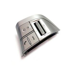 Image 4 - Botón de volante plateado para Isuzu, MU X, DMAX, MUX