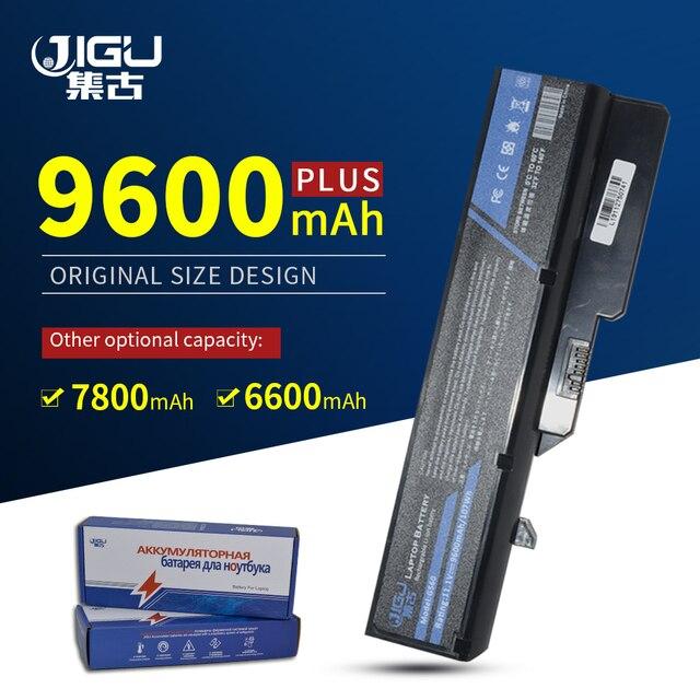 JIGU 7800MAH Pin Dành Cho Laptop Lenovo IdeaPad G460 B470 V470 B570 G470 G560 G570 G770 G780 V300 Z370 Z460 z470 Z560 Z570 K47
