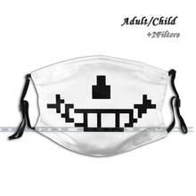 Masque facial lavable avec filtre Anti-poussière, Design personnalisé pour enfants et adultes