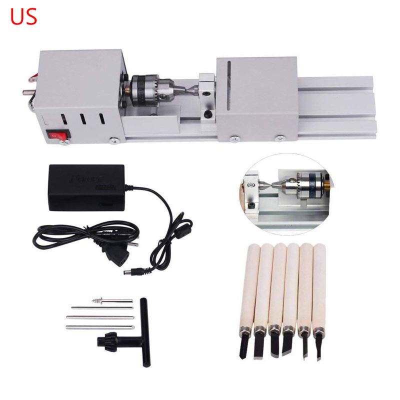 Mini Lathe CNC Milling Machine Beads DIY Woodworking Carving Blade Grinding Tool