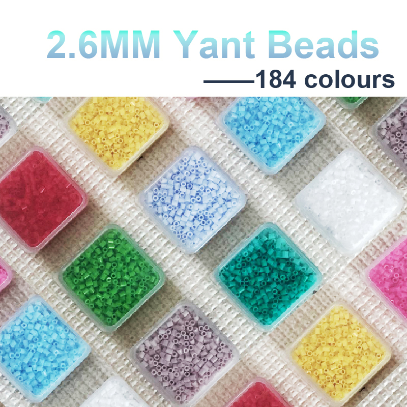 225colours #S Yantjouet 2.6mm Mini Beads 530pcs/box Hama Beads Perler Beads Easy To Store For Kids Iron Beads High Quality