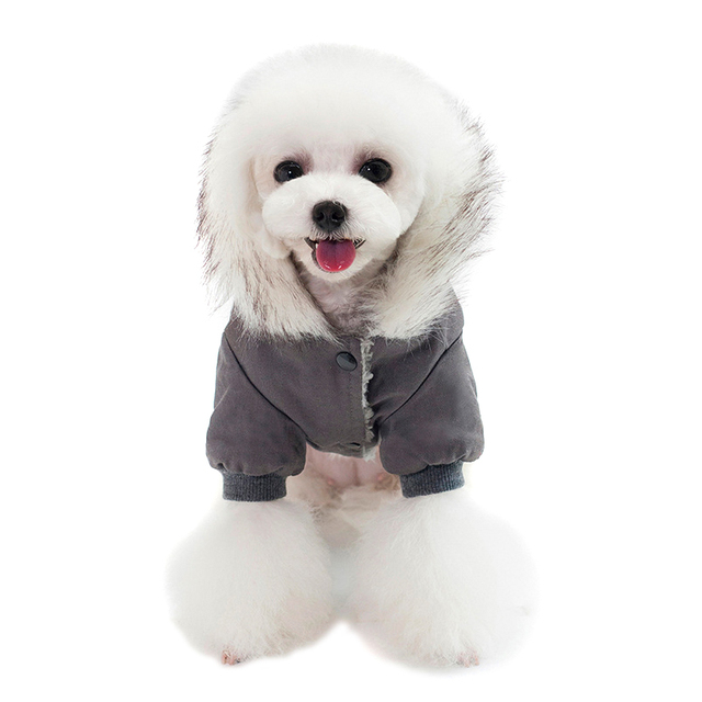 Hooded Pet Dog Clothes Autumn Winter Soft Warm Coat Pet Hoodie Supplies TUE88 6