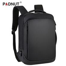 Sacs à dos Anti vol sac à dos pour ordinateur portable pour hommes, avec chargeur USB, sac à dos pour ordinateur portable 15.6 pouces, étanche