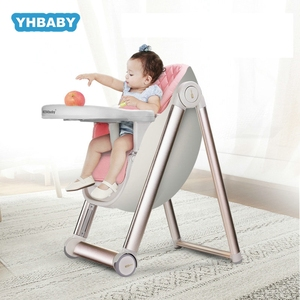 Baby Dining Chair Child Eating Seat Multifunctional Foldable Portable High Chair