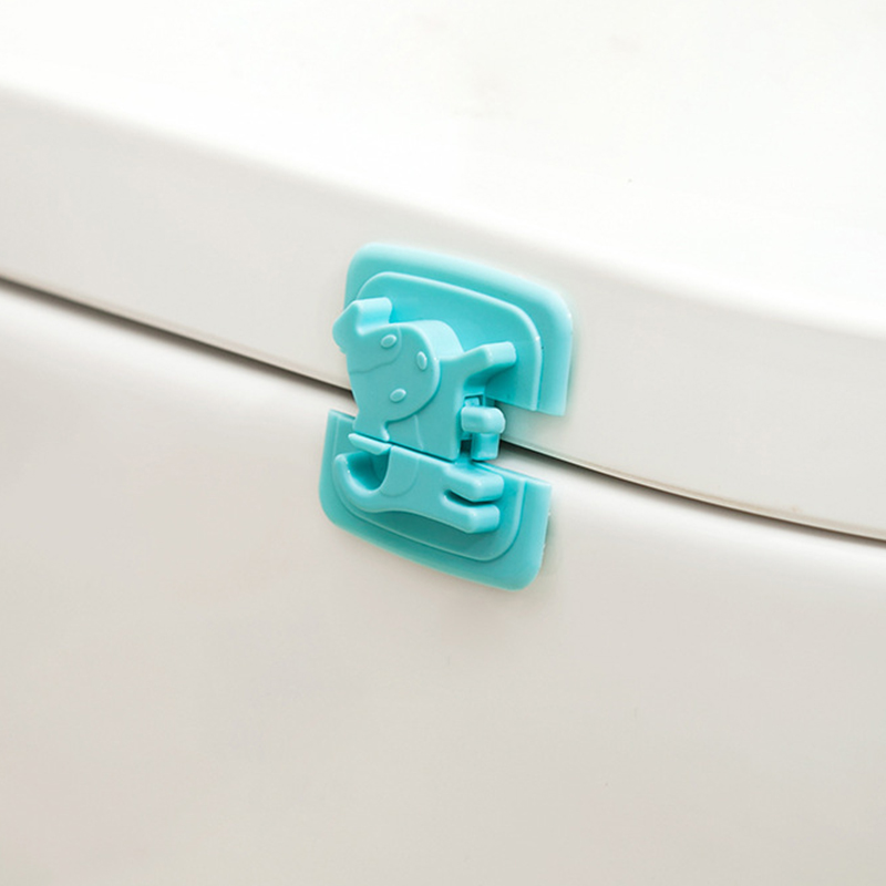 2Pcs Baby Cabinet Lock Child Safety Baby Protection From Children Safe Locks Security Drawer Latches For Refrigerators