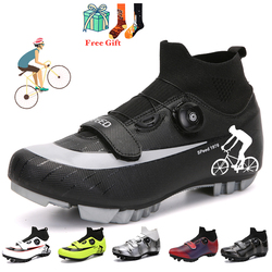 MTB Cycling Shoes Sneakers Winter Outdoor Men Mountain Bike Shoes Road Bike Shoes Professional Ultra Light Cycling Shoes