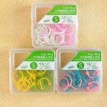 8-30 Pcs Creative Colorful Plastic Book Rings Multi-Function Loose-Leaf Binder Ring DIY Album Book Binder Hoops Office Binding