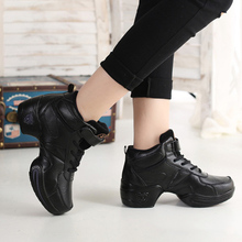 New Comfortable Women Fashion Leather Modern Soft Bottom Dance Shoes Jazz