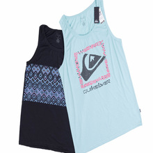 Men's Regular Fit Skateboard Surf Workout Tank Beach Gym Fitness Knitted Singlet Blue Black Sleeveless Hip Hop Stree Jersey Vest