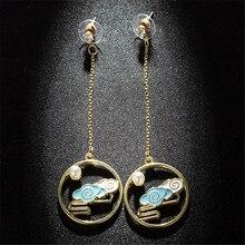fashion lychee New Acrylic Cute Cloud Lightning Earrings Hot Charm Drop Dangle Women Girls Fashion Jewelry fashion acrylic dangle long earrings women girls kids gift jewelry pendant charm accessories drop fox earrings