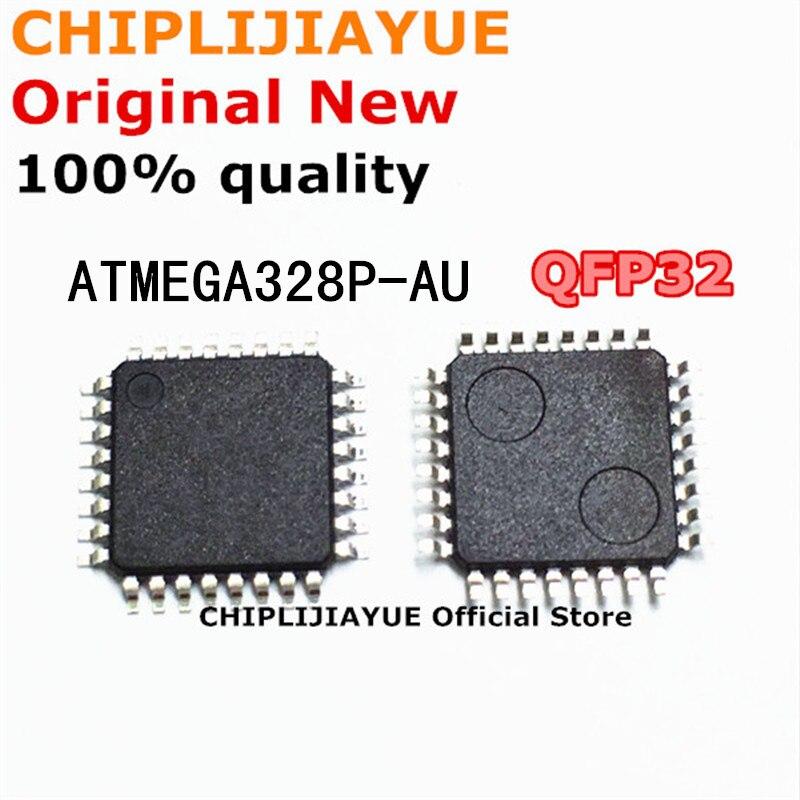 2 шт., флэш-микросхема QFP32 ATMEGA328P AU ATMEGA328 MEGA328P