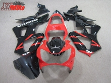 ABS Fairing Kit For Honda CBR929R 2000-2001 Motorcycle Injection ABS plastic Fairings CBR 929 00-01 Gloss Red and Black Bodywork