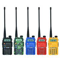 baofeng uv Baofeng UV5R מכשיר הקשר מקצועי CB רדיו תחנת Baofeng UV5R משדר 5W VHF UHF Portable UV 5R ציד חזיר רדיו (2)