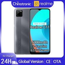 Realme C11 2GB 32GB wersja globalna z systemem Android 10 telefon komórkowy 6.5