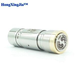 Image 2 - Vape Mechanical mod 22MM diameter 510 Thread Mod Fit 18650/18500/18490 Battery Vape pens mod Kits HXJ Original vape band