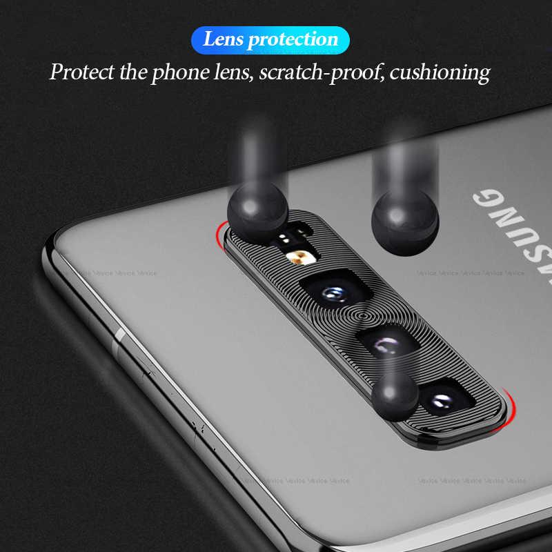 Защита для объектива камеры кольцо чехол для samsung Galaxy A30 A50 металлический телефон объектив протектор для samsung Galaxy S10 Plus S10E крышка