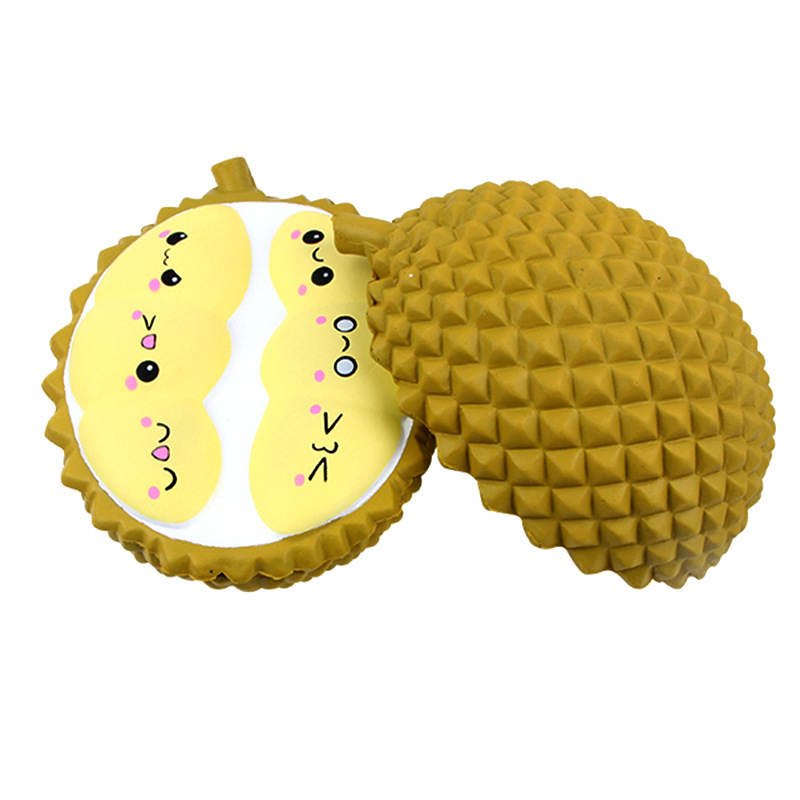 <font><b>Big</b></font> <font><b>Squishy</b></font> Slow Rising Large Durian PU Simulation <font><b>Fruit</b></font> Soft Squeeze Toy Scented Relieve AntiStress Funny Kids Birthday Gifts image