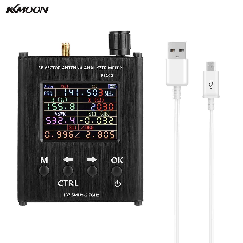 KKMOON N1201SA 137,5 MHz-2,7 GHz Antenne Analysator Standing Wave Meter Antenne Tester RF Vector Impedanz Analysator