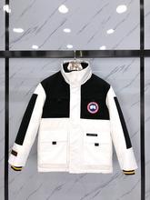 Oryginalne płaszcze zimowe dla mężczyzn Fashion Style kanada Goose męska kurtka zimowa duża gęsia męska kurtka puchowa z kapturem tanie tanio CA (pochodzenie) REGULAR 121M Canada Goose Na co dzień zipper Pełna Grube Suknem COTTON Pióro 300g Stałe