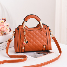 цена на Sac a main femme de marque luxe cuir 2020 women crossbody bag plaid hand bag autumn new fashion mochila feminina messenger bag