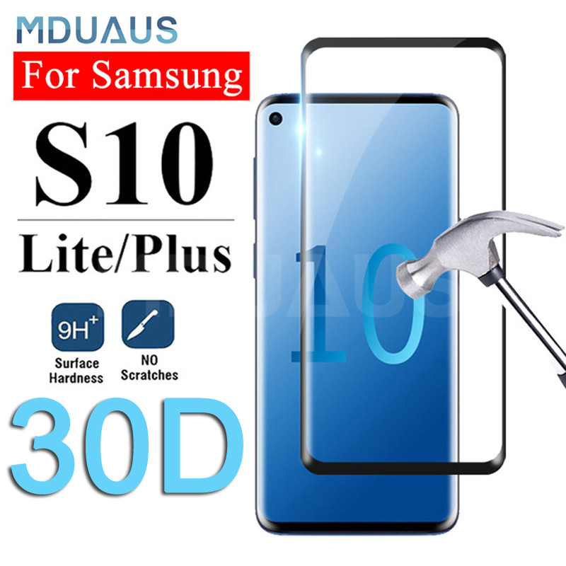 30D Curved Tempered Glass For Samsung Galaxy S10 S9 S8 Plus 5G S10e Screen Protector For Samsung Note 9 A6 A8 2018 Glass Film
