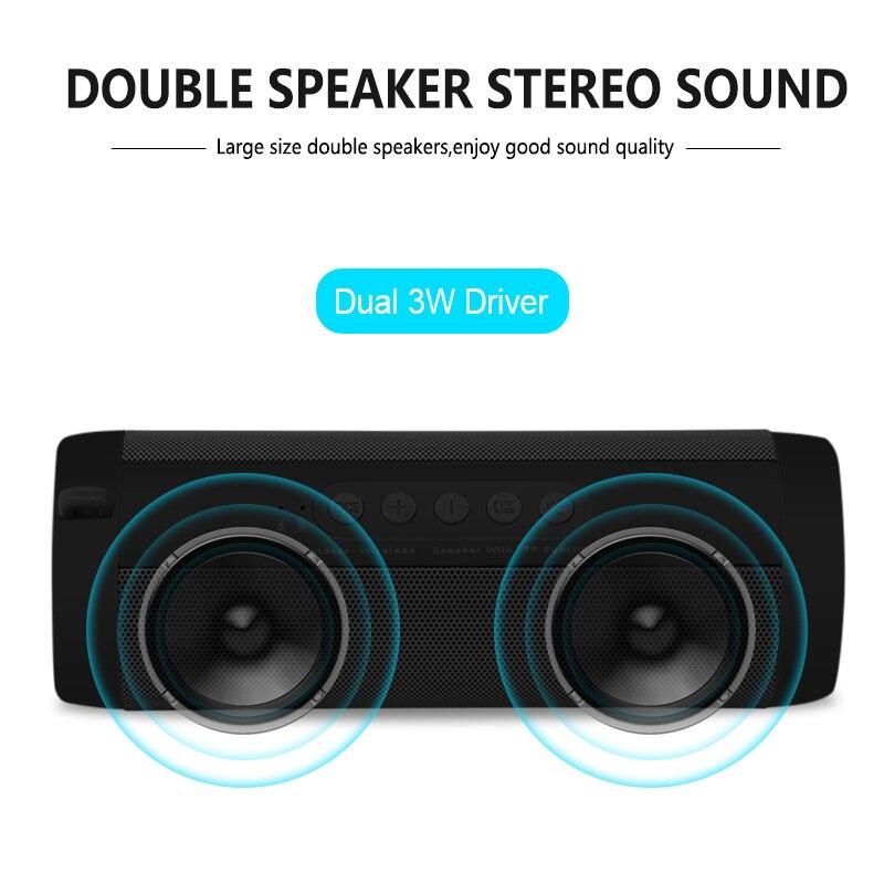 T2 Wireless Bluetooth Speakers Best Waterproof Portable Outdoor Loudspeaker Mini Column Box Speaker Design for iPhone Xiaomi 1