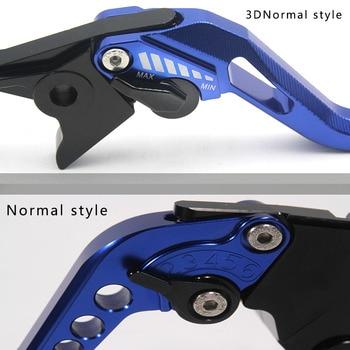 Palanca de embrague de freno CNC 3D Electroplate rombos para motocicleta HONDA CB500X CB 500 X CB500 X 2013 2014 2015 2016 2017 2018 2019