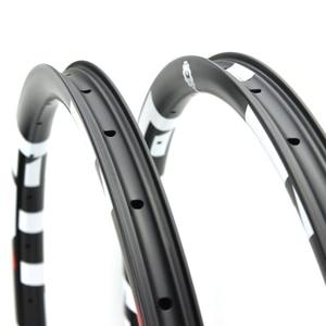 Image 5 - Elite Carbon Mtb Rim XC AM DH Bicycle Rim 29er Mtb Hookless Asymmetric 24 27 30 35 40 50mm Width 29mm Depth Ems Free Shipping