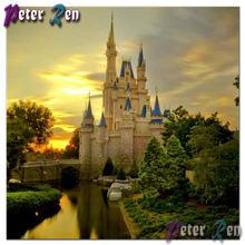 Алмазная картина 5d scener daimond paiting замок мечты вышивка