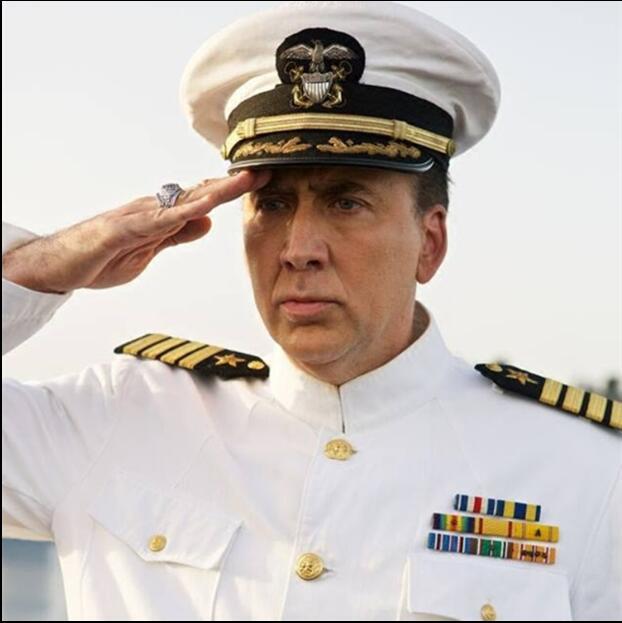 Navy Suits Jacket + pants U.S. Army White Tuxedo Regular Uniform Men Navy Performance White Army uniform Same as Nicholas Cage