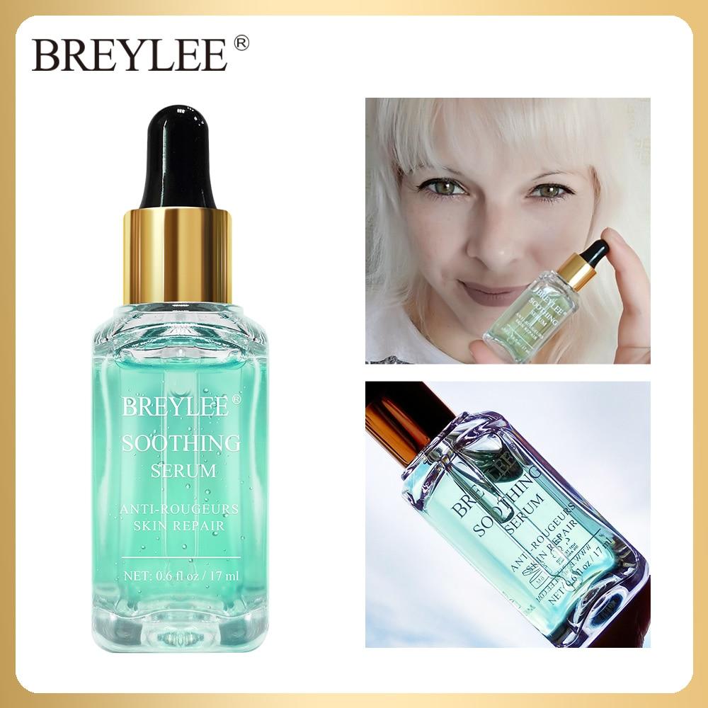 BREYLEE Soothing Repairing Serum Fade Redness Treatment Sensitive Skin Repair Acne Scar Whitening Face Skin Care Snail Essence