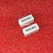 5W Cerâmica Cimento Resistor Ohm 5% 0.1R 0.5R 1R 2R 3R 4.7R 10R 20R 50 Ohm 100 Ohm 6.8k 50 47 15 12 10k k K K K 100k Resistor 10Pcs