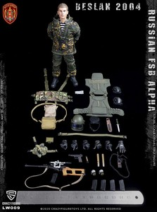 Image 4 - CrazyFigure LW009 Russian Alpha Special Forces Sniper 1/12 ACTION FIGURE
