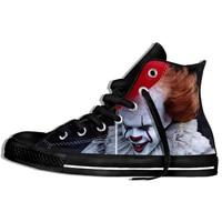 Horror Movie It Penny Wise Clown Joker 3D Print Shoes Men/Women Casual Shoes Sneakers Fashionable Canvas Shoes