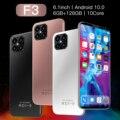 Глобальная версия F3 5G смартфон 6 ГБ 128 6,1 дюймов 13MP + 24MP 4Gnetwork разблокированый мобильный телефонах Android сотовый телефон celulares