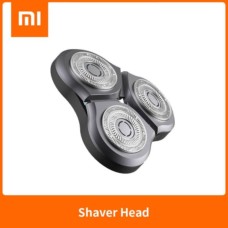 الأصلي شاومي Mijia الكهربائية S500 S500C S300 ماكينة حلاقة رئيس استبدال ماكينة حلاقة رئيس مقاومة للماء حلقة مزدوجة القاطع شفرة مزدوجة