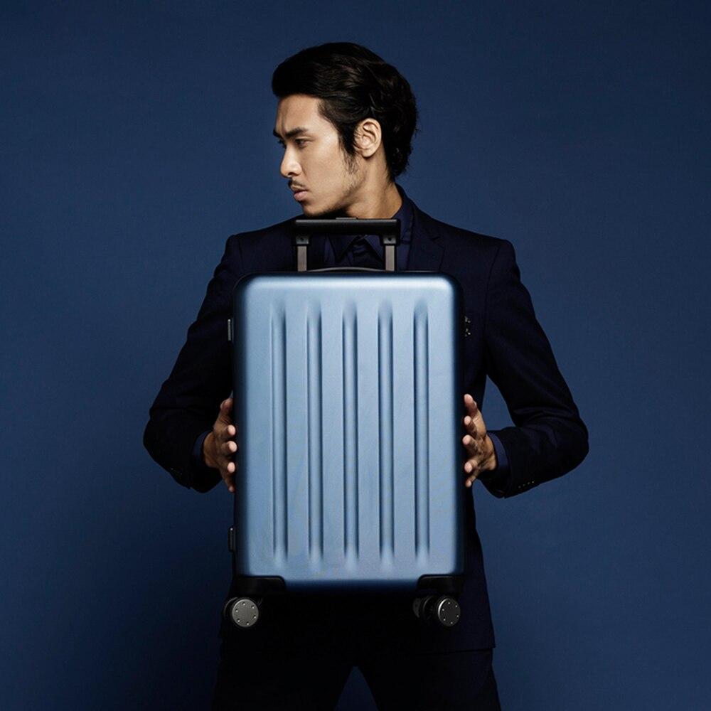 Сделано в Китае простой стиль 100% Алюминий frame20/24 дюймов размер высокого качества прокатки багажа Спиннер брендовый Дорожный чемодан - 5